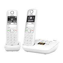 Siemens Pack duo téléphone répondeur sans fil Gigaset AS690A - blanc