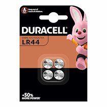 Duracell Blister de 4 piles alcalines Duracell LR 44