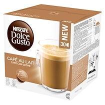 Nescafe Capsules Dolce Gusto café au lait Nescafé - Boîte de 30