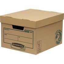 Fellowes BANKERS BOX EARTH Carton d'archives/de transport - Lot de 10