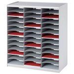 paperflow  Paperflow Trieur monobloc, 36 compartiments, gris En polystyrène,... par LeGuide.com Publicité