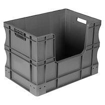 Bac de stockage gerbable en plastique Viso - 90 litres
