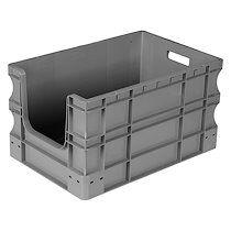 Viso Bac de stockage gerbable en plastique Viso - 65 litres