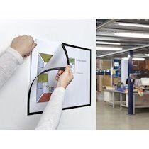 Cadre d'affichage magnétique magnetofix, A4