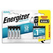 Energizer Blister de 8 piles Max Plus AAA E92 7638900423136 - Lot de 2