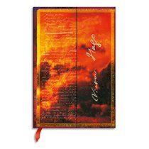 Carnet Manuscrits Estampés Victor Hugo LesMisérables Mini 10x14cm 176 pages uni - Lot de 2