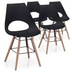 Lot de 4 chaises scandinaves Dani Noir Lot de 4 chaises scandinaves Coloris... par LeGuide.com Publicité