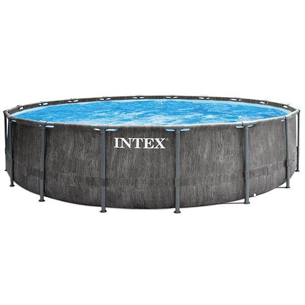 Intex Piscine tubulaire Piscine tubulaire Baltik - Ronde - 5,49 m x 1,22 m - Intex