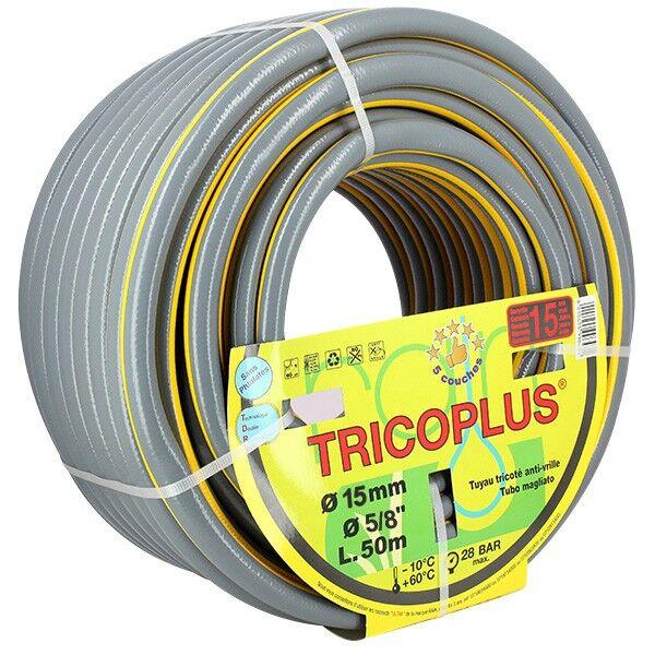 Rain Tuyau arrosage - Tuyau TRICOPLUS 15mm - 50m - Rain