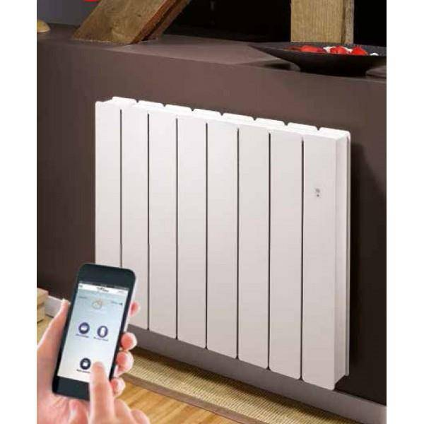 NOIROT Radiateur Fonte NOIROT - BELLAGIO Smart ECOControl 1250W Horizontal Blanc N1684SEFS