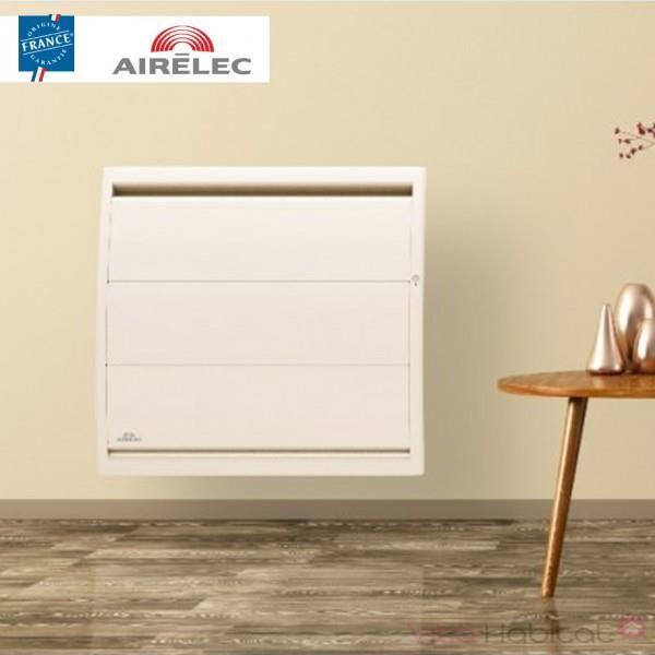 AIRELEC Radiateur electrique Fonte AIRELEC - AIREVO Smart ECOcontrol 1000W Horizontal Blanc - A693423