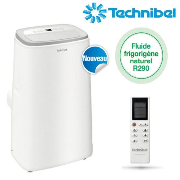 TECHNIBEL Climatiseur mobile monobloc IRO 2,72kW - Technibel IRO10