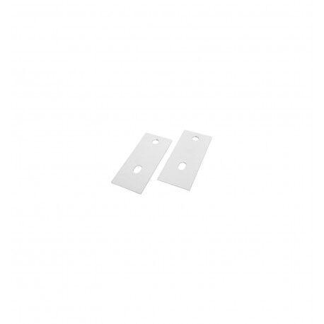 ACOVA Platine de renfort blanche à l'unité pour mur friable - ACOVA 123021