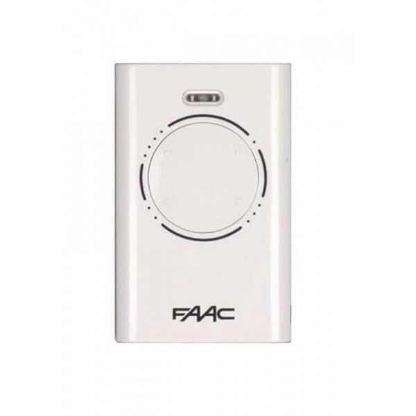 FAAC Télécommande FAAC XT4 868 SLH Emetteur 4 Canaux BLANC - 787010