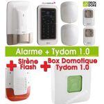 delta dore  DELTA DORE Pack Alarme / Domotique TYXAL PLUS avec Tydom 1.0... par LeGuide.com Publicité