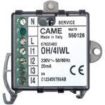 came  CAME OH/4IWL Module 4 entrées numérique radi CAME 67600460 Domotique... par LeGuide.com Publicité