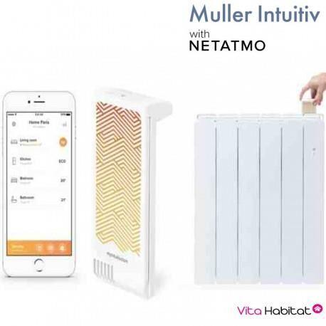 NOIROT Module Muller Intuitiv with Netatmo Blanc - NOIROT - NEN9241AA