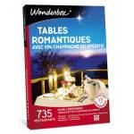 wonderbox  Wonderbox Coffret cadeau Tables romantiques avec vin, champagne... par LeGuide.com Publicité