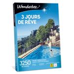 wonderbox  Wonderbox Coffret cadeau 3 jours de rêve - Wonderbox 3 jours... par LeGuide.com Publicité