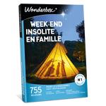 wonderbox  Wonderbox Coffret cadeau Week-end insolite en famille - Wonderbox... par LeGuide.com Publicité