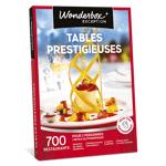 wonderbox  Wonderbox Coffret cadeau Tables prestigieuses - Wonderbox Tables... par LeGuide.com Publicité