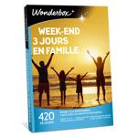 wonderbox  Wonderbox Coffret cadeau Week-end 3 jours en famille - Wonderbox... par LeGuide.com Publicité
