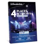 wonderbox  Wonderbox Coffret cadeau 4 Places de concerts Découverte - Cultur'In... par LeGuide.com Publicité