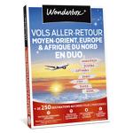 wonderbox  Wonderbox Coffret cadeau Vols aller-retour Moyen-Orient, Europe... par LeGuide.com Publicité
