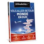 wonderbox  Wonderbox Coffret cadeau Vols aller-retour Monde en duo - Wonderbox... par LeGuide.com Publicité