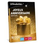 wonderbox  Wonderbox Coffret cadeau Joyeux anniversaire Émotion - Wonderbox... par LeGuide.com Publicité