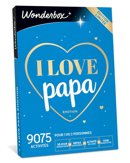 Wonderbox Coffret cadeau I love Papa Émotion - Wonderbox