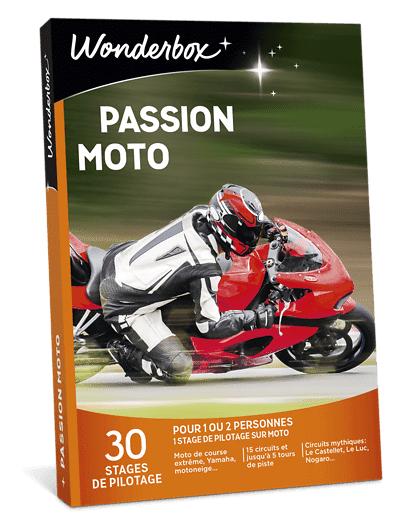 Wonderbox Coffret cadeau Passion moto - Wonderbox