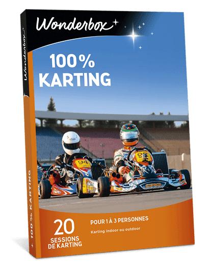Wonderbox Coffret cadeau 100% Karting - Wonderbox