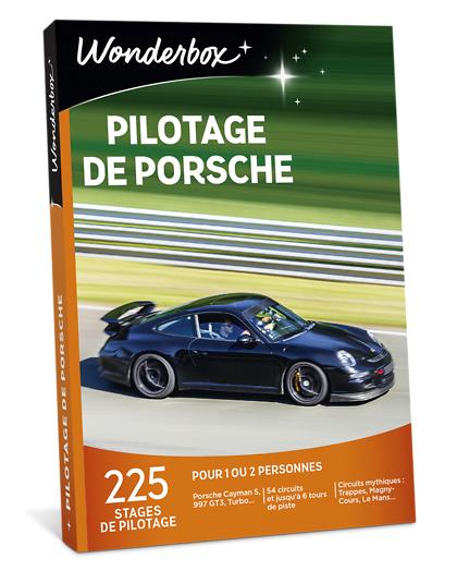 Wonderbox Coffret cadeau Pilotage de Porsche - Wonderbox