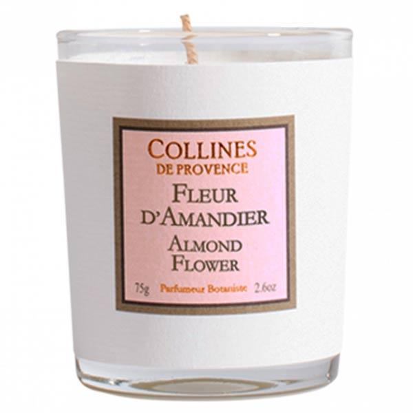 Collines de Provence Bougie Parfumée Fleur d'Amandier 75g