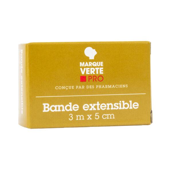 Marque Verte Bande Extensible Sous Cello 3m x 5cm 1 Unité
