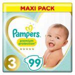 Pampers Premium Protection Taille 3 6-10kg 3 packs de 33 Couches Pampers... par LeGuide.com Publicité
