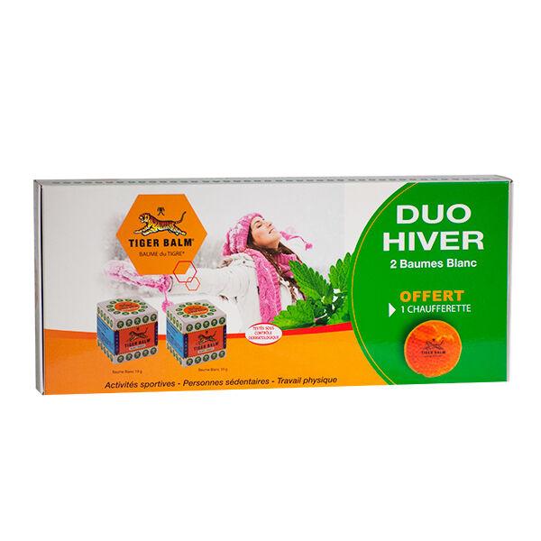 Baume du Tigre Coffret Duo Hiver Baume Blanc 19g Lot de 2 + Chaufferette Offerte