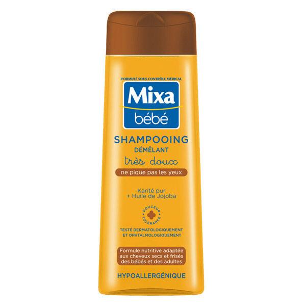 Mixa Bébé Shampooing Démêlant Très Doux 250ml