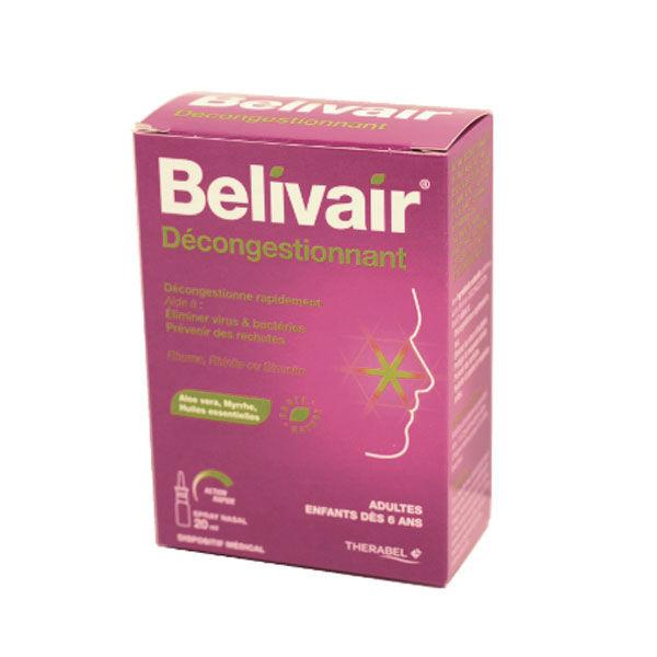 Belivair Décongestionnant Spray Nasal 20ml