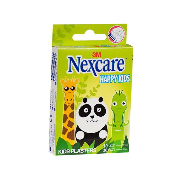 Nexcare Happy Kids Animaux 20 pansements