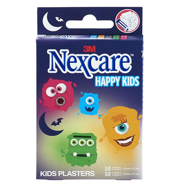 Nexcare 3M Nexcare Happy Kids Monstres 20 pansements