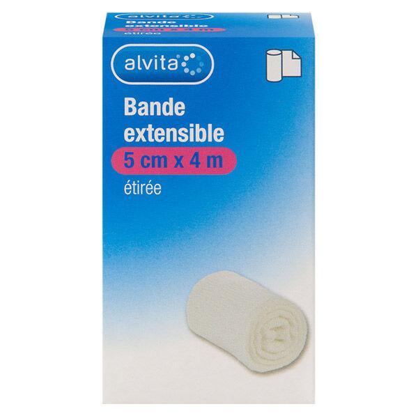 Alvita Bande Extensible 5cm x 4m 1 unité