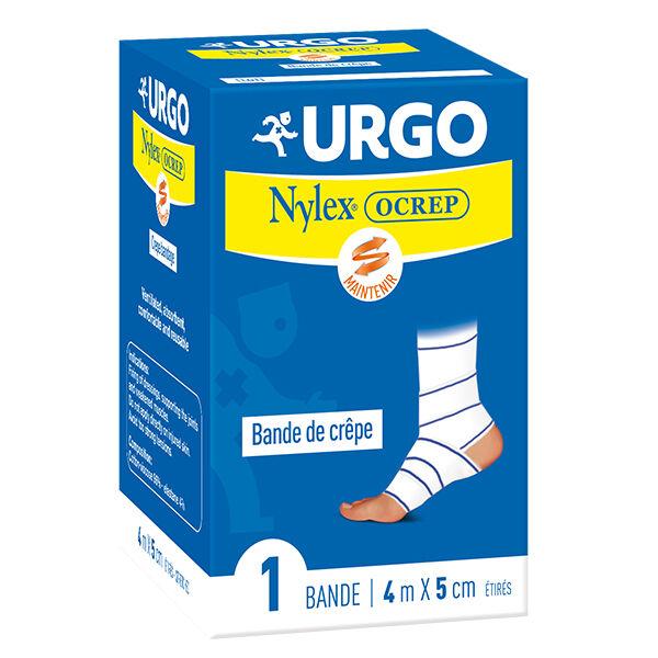 Urgo Soins Infirmiers Bande de Crêpe Nylex Ocrepe 5cm x 4m