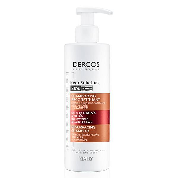Vichy Dercos Kera-Solutions Shampooing Reconstituant 250ml