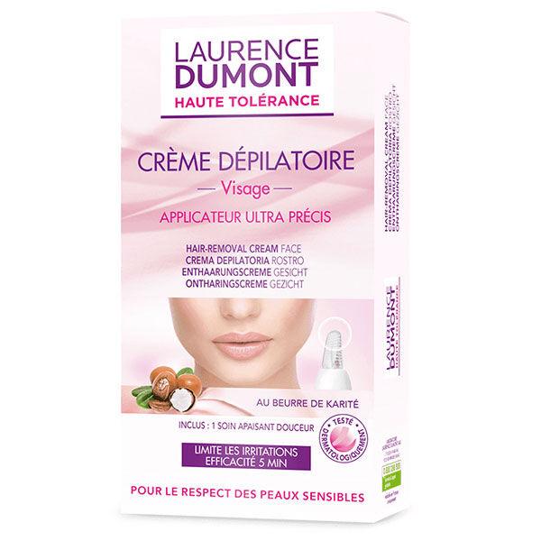 Laurence Dumont Haute Tolérance Crème Dépilatoire Visage 20ml