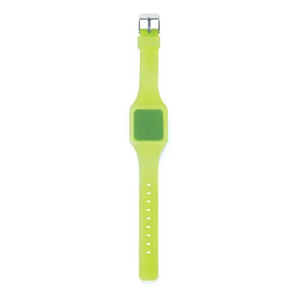 Montre Touch Ultra-plate Verte