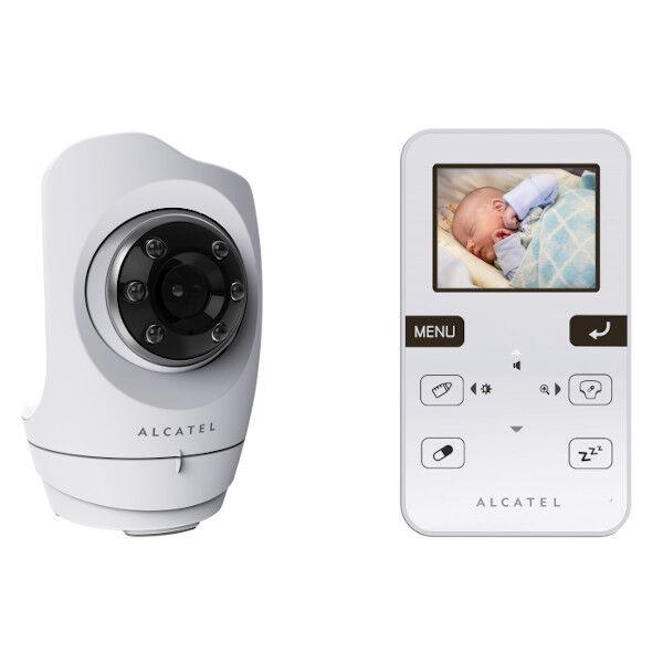 Alcatel Baby Link 710 Babyphone Vidéo Blanc