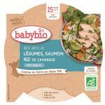 Babybio Menu du Jour Assiette Méli Mélo Légumes Saumon Riz dès 15 mois... par LeGuide.com Publicité
