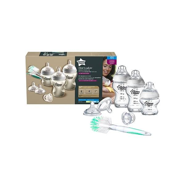 Tommee Tippee Closer To Nature Starter Kit Naissance Verre